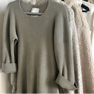 LaurenManoogian Oversize knit sweater. Size 3